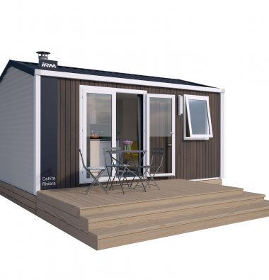 campsite with pool in haute normandie
