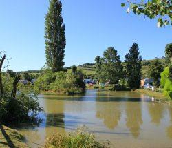 Camping avec étang : pêche