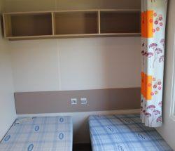 Verkoop stacaravan camping Seine Maritime: slaapkamer kinderen