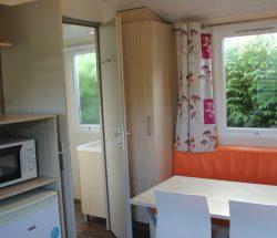 Vente mobilhome camping Seine Maritime : salon
