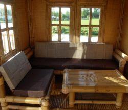 Location cabane bambou