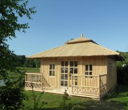 bamboo hut rental
