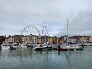 Vue de Dieppe et du port